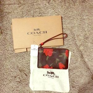 Coach Wristlet NWT's including dust bag & gift box